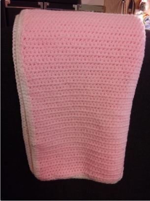 Single crochet baby blanket (DK yarn)