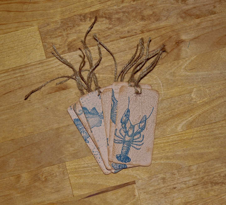 Stamping Up By The Tide GiftTags