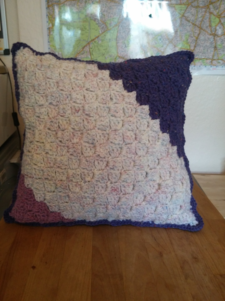 Corner to Corner Crochet Cushions