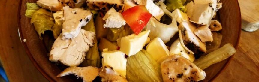 Recipe: Apple, Brie and Roast Chicken Salad