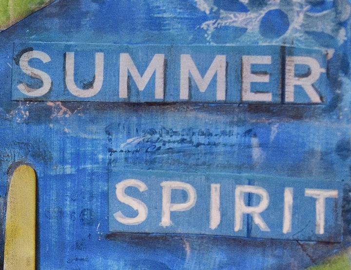 Art Journal Page: SummerSpirit