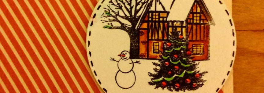 Card : Merry andBright!