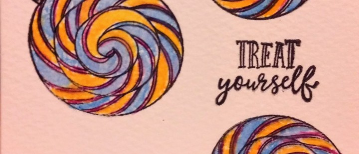 Card: Lolly Treats